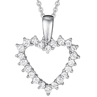 Diamond Heart Pendant (.40 ctw.)