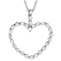 Diamond Heart Pendant (.44 ctw.)