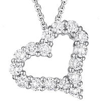 Diamond Heart Pendant (.66 ctw.)