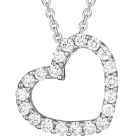 Diamond Heart Pendant (.29 ctw.)