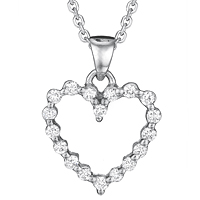 Diamond Heart Pendant (.19 ctw.)