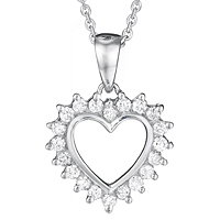 Diamond Heart Pendant (.33 ctw.)