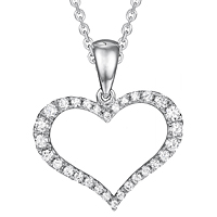 Diamond Heart Pendant (.21 ctw.)
