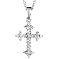 Diamond Cross Pendant (.04 ctw.)