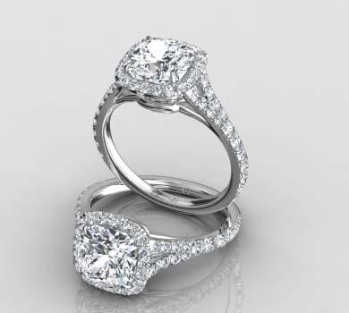 madeline split shank halo ring price 1900 - Halo Wedding Rings