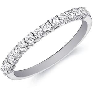 18k White Gold Sasha Diamond Band by Eternity