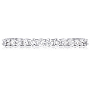 18k White Gold Rebecca Diamond Band by Eternity