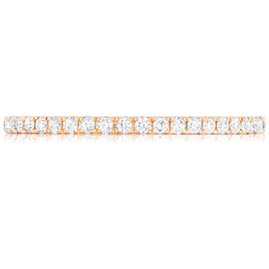 18k White Gold Francesca Diamond Anniversary Band by Eternity