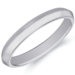 18k White Gold Marcelle Wedding Band by Eternity