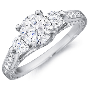 diamond eternity engagement rings budget diamond engagement rings for her - Wedding Rings Expensive