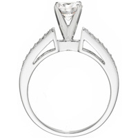 Lucy with Channel Set Diamond Ring and Matching Band by Eternity (.50 ctw.)