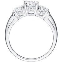 Ashley round-cut diamond trio by Eternity (.58 ctw.)