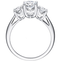 Marta  round-cut diamond trio by Eternity (.54 ctw.)