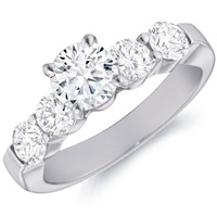 Rachel Prong Set Engagement Ring (1.01 ctw)
