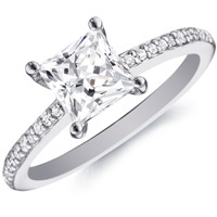 Princess Cut Diamond, Princess Cut Engagement Ring, Princess Cut ...