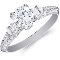 Roxanne Stylized Diamond Ring by Eternity (.47 ctw.)