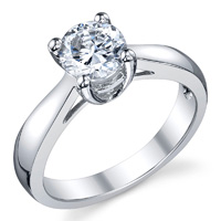 Billie Solitaire Engagement Ring