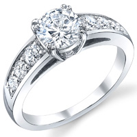 Prong Set Diamond Engagement Ring