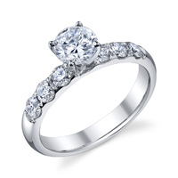 Lana Diamond Engagement Ring (.82 ctw.)